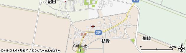 山形県東田川郡庄内町杉浦杉野23周辺の地図