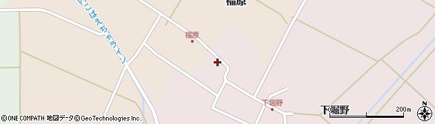 山形県東田川郡庄内町堀野下堀野50周辺の地図