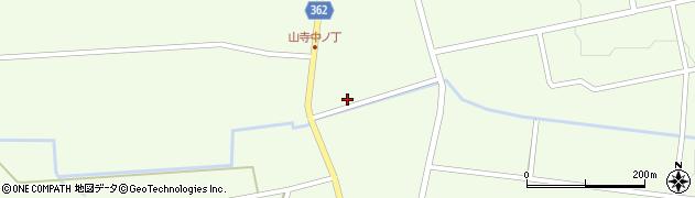 山形県酒田市山寺宅地107周辺の地図