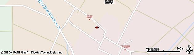 山形県東田川郡庄内町堀野下堀野48周辺の地図