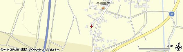 山形県酒田市黒森泊山4周辺の地図