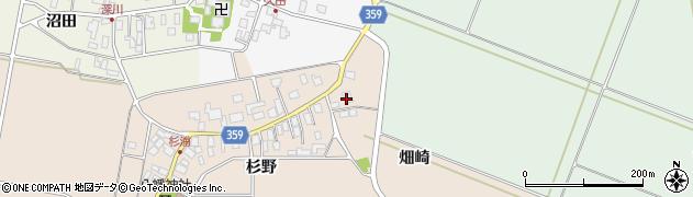 山形県東田川郡庄内町杉浦杉野46周辺の地図