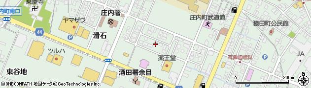 山形県東田川郡庄内町余目滑石3周辺の地図