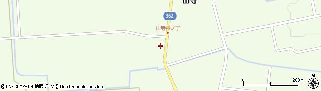 山形県酒田市山寺宅地109周辺の地図