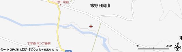 宮城県栗原市金成末野畑沢沖周辺の地図