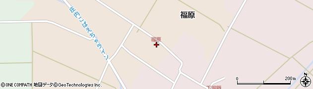 山形県東田川郡庄内町福原石蔵10周辺の地図