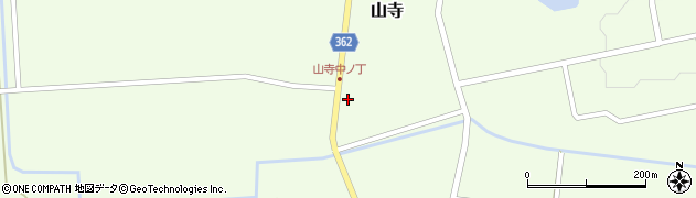山形県酒田市山寺宅地112周辺の地図