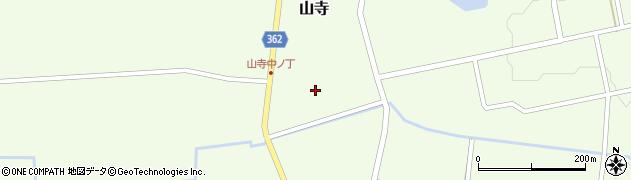 山形県酒田市山寺宅地113周辺の地図