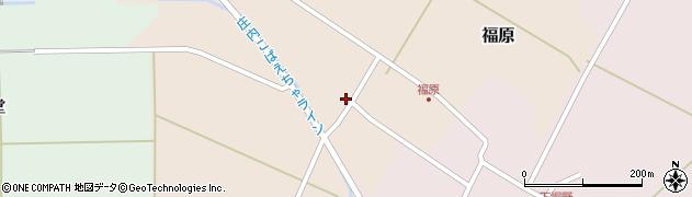 山形県東田川郡庄内町福原石蔵64周辺の地図