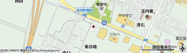 山形県東田川郡庄内町余目東谷地153周辺の地図