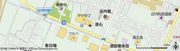山形県東田川郡庄内町余目滑石42周辺の地図