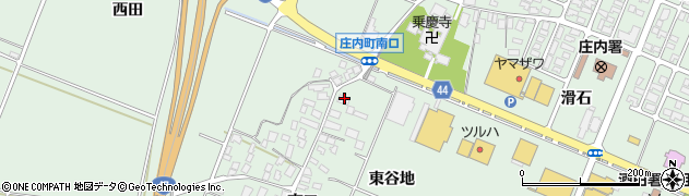 山形県東田川郡庄内町余目南口101周辺の地図