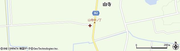 山形県酒田市山寺宅地111周辺の地図