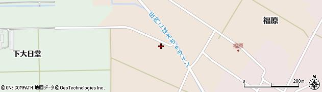 山形県東田川郡庄内町福原村南58周辺の地図