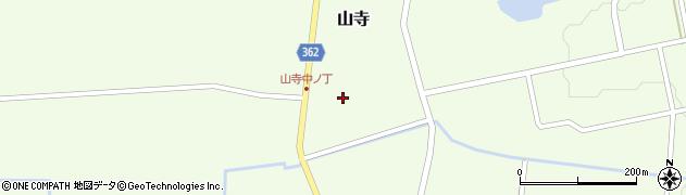 山形県酒田市山寺宅地119周辺の地図
