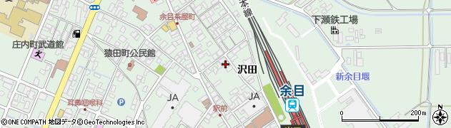 山形県東田川郡庄内町余目沢田149周辺の地図