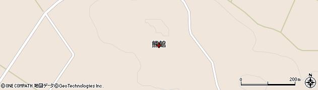 岩手県一関市藤沢町黄海熊館周辺の地図