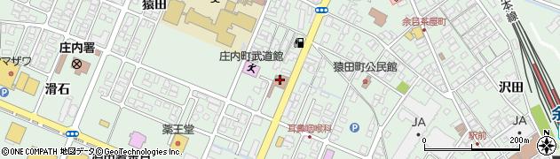 山形県東田川郡庄内町余目猿田89周辺の地図