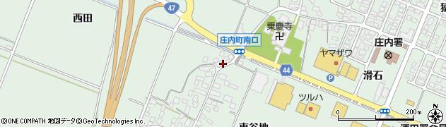 山形県東田川郡庄内町余目東谷地78周辺の地図