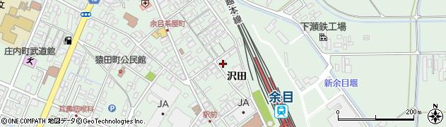 山形県東田川郡庄内町余目沢田102周辺の地図
