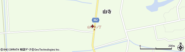 山形県酒田市山寺宅地121周辺の地図