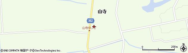 山形県酒田市山寺宅地126周辺の地図