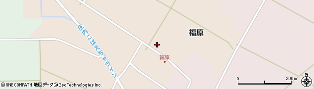 山形県東田川郡庄内町福原石蔵14周辺の地図
