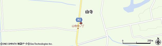 山形県酒田市山寺宅地127周辺の地図