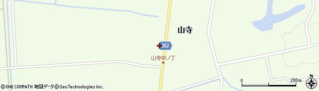 山形県酒田市山寺宅地129周辺の地図