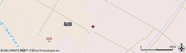 山形県東田川郡庄内町福原楯野腰周辺の地図