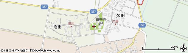 山形県東田川郡庄内町深川沼田9周辺の地図