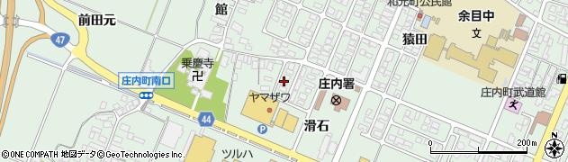 山形県東田川郡庄内町余目滑石12周辺の地図