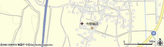 山形県酒田市黒森泊山44周辺の地図