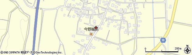 山形県酒田市黒森泊山30周辺の地図