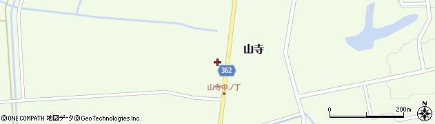 山形県酒田市山寺宅地133周辺の地図