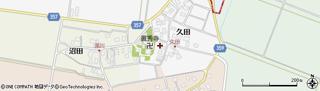 山形県東田川郡庄内町久田久田32周辺の地図