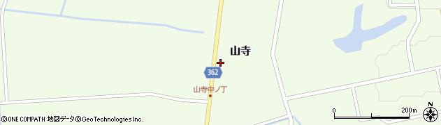 山形県酒田市山寺宅地134周辺の地図