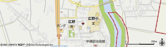 山形県酒田市広野中通69周辺の地図