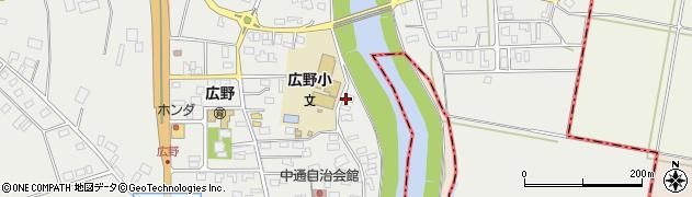 山形県酒田市広野中通123周辺の地図