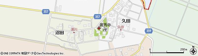山形県東田川郡庄内町深川沼田11周辺の地図