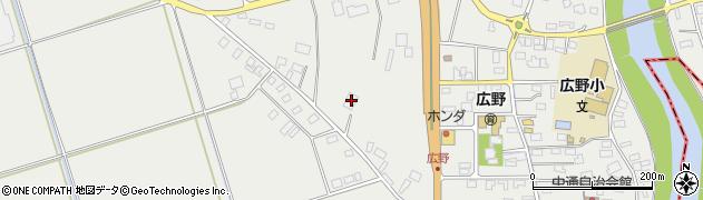 山形県酒田市広野上通200周辺の地図