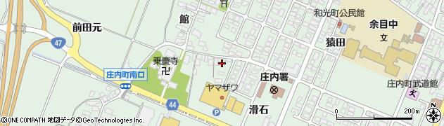 山形県東田川郡庄内町余目館16周辺の地図