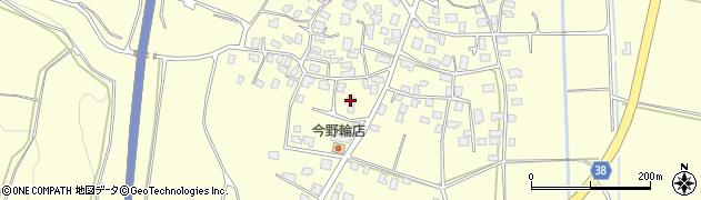 山形県酒田市黒森村中周辺の地図