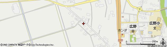 山形県酒田市広野大日塚110周辺の地図