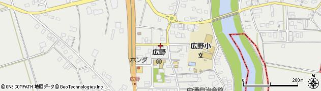 山形県酒田市広野中通88周辺の地図
