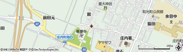 山形県東田川郡庄内町余目館32周辺の地図