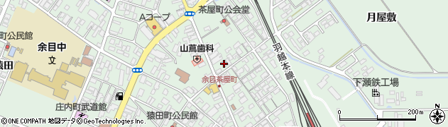 山形県東田川郡庄内町余目沢田163周辺の地図