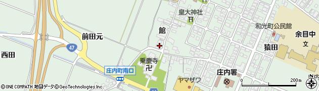 山形県東田川郡庄内町余目館31周辺の地図