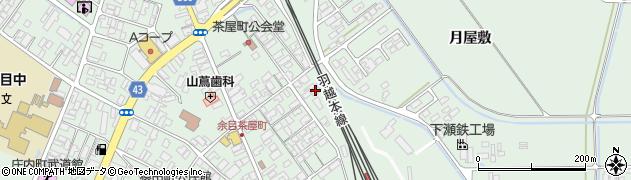 山形県東田川郡庄内町余目沢田76周辺の地図