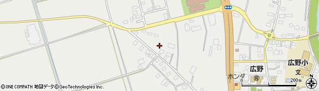 山形県酒田市広野上通216周辺の地図